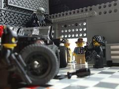 Excuse me, Ladies... (captain_joe) Tags: toy spielzeug 365toyproject lego minifigure minifig moc car auto jeep acebrickman catwoman zombieman