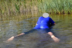 Leotard (wetmuddy) Tags: unitard leotard leggings wet wetlook bath bathing swim swimming lycra spandex fun water schwimmen