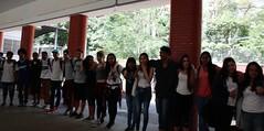 A Fundação Poder Jovem realizou um #abraçaço com mais de 400 alunos da Escola Estadual Martim Francisco, de São Paulo.