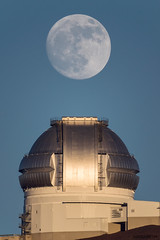 The Moon Above Gemini (Raiatea Arcuri) Tags: gemini observatory maunakea bigisland hawaii telescope 1000mm moon