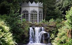 Woolbeding Garden (Mark Wordy) Tags: woolbedinggarden midhurst westsussex secretgarden summerhouse folly waterfall