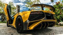 Lamborghini Aventador LP 750-4 Superveloce Lin (yellow) (Wei-li Long) Tags: lamborghini lamborghiniaventadorlp7504 lp7504superveloce yellow taiwan   supercar car