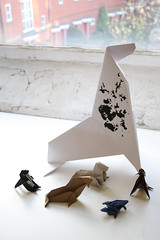 selkie and friends (hwayoungjung) Tags: origami 종이접기 selkie