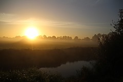 Sunrise by the river