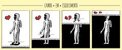 Caindo em Esquecimento (Alan Kubota - A.O.K) Tags: memoria memories memory quebranto quebrar tobreak caindo falling heart coração esquecimento forgetfulness forget esquecer love amor alankubota kubota thesenheiros inktober2016 mask mascara shadow sombra