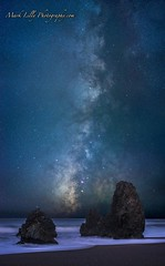 Rodeo Beach Milky Way... (markarlilly) Tags: rodeobeach milkyway marin marincounty pacificocean sanfrancisco marinheadlands zeiss zeiss55mm otus seastacks stars california northerncalifornia distagonotus5514zf