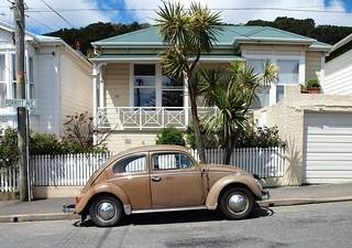 1967 Volkswagen 1300, Mt Victoria, Wellington