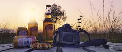 Profiter du coucher de soleil... (Mod Stv (Steph Gaudry)) Tags: desperados tequila jamaica fagnes highfences nikon nikond800 sunset oldjamaica gingerbeer