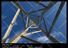 Infinite perspective (__Viledevil__) Tags: perspective infinite vanishing point tower light metal iron steel sky blue metallic fugue background architecture abstract texture urban construction high angle lines