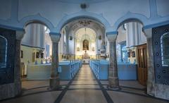 Dentro de la Iglesia Azul (Guillermo Relao) Tags: iglesiaazul bratislava eslovaquia guillermorelao nikon d90 1020mm sigma wideangle angular