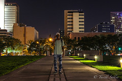 Camera through another camera. August 2016 (tarell_sallie) Tags: tampa florida tampabay hillsborough hillsboroughcounty canon canont3i portrait macbook lightroom blackperson citylife nightlife city lanscape landmarks skyline skyscraper skyscrapers highrise walkway park citypark copyright camera style vans trees grass centralflorida