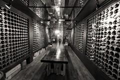 DSC00171 - Casa Loma (Syed HJ) Tags: sonyalpha7r sonya7r sony a7r sonyilce7r ilce7r canonef1635mmf28liiusm canonef1635mmf28lii canonef1635mmf28l canon1635mm 1635mm canon casalomatorontooncanada casaloma toronto ontario canada blackwhite blackandwhite bw cellar wines