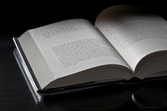 Novel (rosarioarbin) Tags: photography photograph photo portraiture book novel lighting shadow page reflection reading learning scenic picture