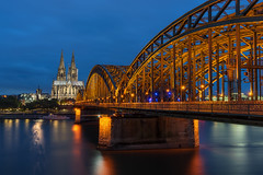 Cologne Classic (martin.matte) Tags: dom kln europa deutschland cathedral klnerdom bluehour blauestunde cityscape stadt
