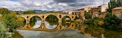 Panorama (FJcuenca) Tags: navarra panasoniclumixdmcg6h puentelareina spain espaa fjcuenca javiercuencamuoz panorama spanien es