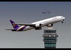 Boeing | 777-3D7 | Thai Airways International | HS-TKF | Hong Kong | HKG | VHHH (Christian Junker | Photography) Tags: nikon nikkor d800 d800e dslr 70200mm teleconverter plane aircraft boeing b7773d7 b777300 b777 b773 thaiairwaysinternational thaiairways thai tg tha tg601 tha601 thai601 hstkf staralliance widebody heavy triple7 lahansai gearup departure takeoff 07r airline airport aviation planespotting 29214 310 29214310 hongkonginternationalairport cheklapkok vhhh hkg clk hkia hongkong sar china asia lantau cc christianjunker flickrtravelaward flickraward zensational hongkongphotos worldtrekker superflickers storm typhoon haima typhoonhaima