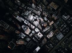 Nucleus (Panda1339) Tags: nyc america leicaq summiluxq 28mm aerial fromthesky wallstreet newyork dystopia moody flynyon