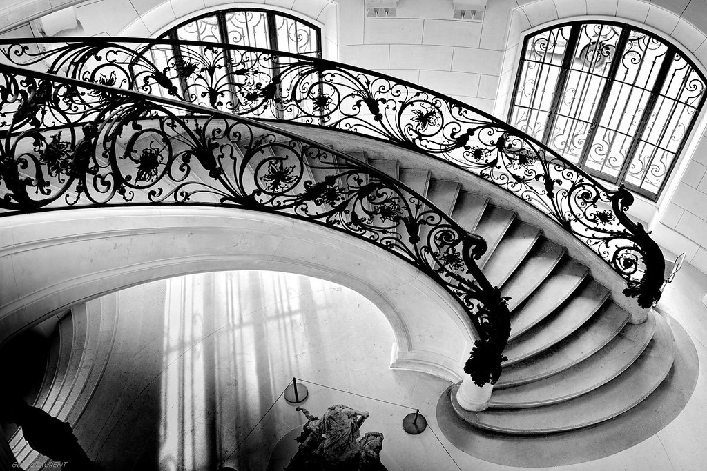the world 39 s best photos of staircase and wroughtiron flickr hive mind. Black Bedroom Furniture Sets. Home Design Ideas