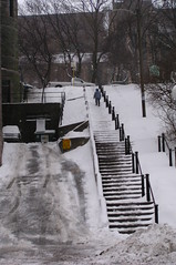 St. John's, Stairs from Water St. to Duckworth St. (Joseph Topping) Tags: newfoundland canada winter