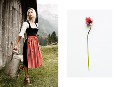 Home From Home IV (photgraphy.com) Tags: alps mountains tradition fashion dirndl goessl tracht beauty editorial cabin heidi
