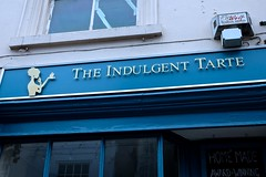 Indulgence (violetchicken977 (Us free-range chickens & duckd o) Tags: takeawaysandfishchipshops signs notices