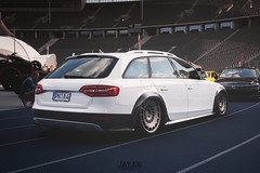 XS CARNIGHT 2016 (JAYJOE.MEDIA) Tags: audi a4 allroad low lower lowered lowlife stance stanced bagged airride static slammed wheelwhore fitment rotiform