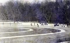 Renkum IJsbaan 't Broek Ca 1965 Foto Collectie Fien Bos (Historisch Genootschap Redichem) Tags: renkum ijsbaan t broek ca 1965 foto collectie fien bos