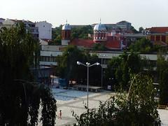 Gorna Oryahovitsa, Bulgaria - view from my hotel room (johnnysenough) Tags: gornaoryahovitsa  bulgaria blgarija bulgarie bulgarien centraleurope tourist travel 100citiesx1trip snv37140