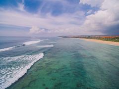 Nusa Dua Beach, Bali (Your.Meal) Tags: kutaselatan bali indonesia id sukasada tegallalang kintamani yourmeal island drone dji phantom beach nusadua waterblow wave waterfall dreamland ricefield mount batur explorebali explore nature