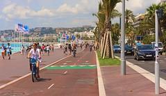 """Promenade des Anglais"" Nice France. (Pensioner Percy) Tags: nice france promenadedesanglais promenade d7200 frenchriviera ctedazur cruise ventura po mediterranean vacation 18140mm nikonlens street tribute alpesmaritimes baiedesanges henrimatisse"