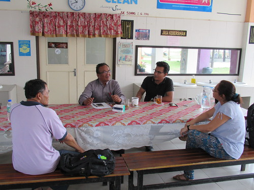 Discussion with Teachers at P. Sibu school