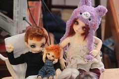 DIL-Tinies-7 (animemom<3) Tags: bjdmeetup bjd fairyland dollstown dim