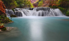 Water of the Havasupai (photo61guy) Tags: az arizona havasucreek havasucanyon havasupai havasu turquoise river creek longexposure waterflow watermotion waterfalls waterfall nikond7000 nd filter ndfilter