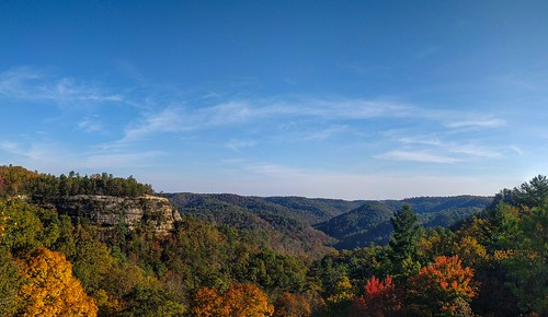 Natural Bridge State Park in KY Fall 2016 Taken with Nexus 6P