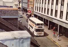 ATA557L, Union Street, Torquay, Early 1980s (aecregent) Tags: unionstreet devongeneral vr vrt ecw ata557l 557 151