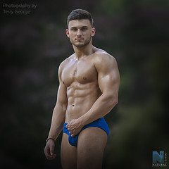 Adam Bacon NFM (TerryGeorge.) Tags: natural fitness models abs six pack workout toned athletic muscle male model underwear shirtless hunk ripped