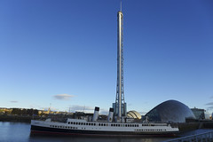 The Queen Mary (Dave S Campbell) Tags: clyde science centre river queen mary ts queenmary glasgow scotland street southside autumn november