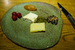 Brillat Savarin & Cheddar Cheese, Apple Chutney & Rosemary Honey (Premshree Pillai) Tags: singapore singaporeaug16 cure curesingapore dinnerforone tastingmenu food cheese cheeses