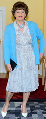 Birgit023243 (Birgit Bach) Tags: dress kleid buttonthrough durchgeknöpft pleatedskirt faltenrock