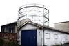 Gasometro (Jusotil_1943) Tags: adictos1 puerta muro gas fabrica gasometro