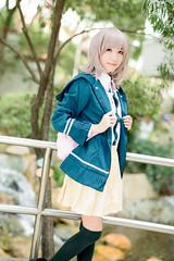 Nanami Chiaki (hokkeiv) Tags: nikon d810 fx nikkor 58mm f14g cosplay portrait   2016