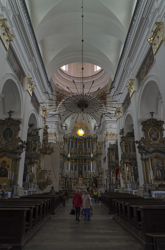 Interior of St. Francis Xavier Cathedral, 03.05.2014.
