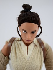 Star Wars Elite Series Rey Premium Action Figure - Disney Store Purchase - Deboxed - Sitting Down - Portrait Front View (drj1828) Tags: starwars theforceawakens rey figure actionfigure purchase disneystore eliteseries premium posable 10inch deboxed sitting