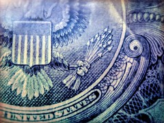 Arrows of War (clarkcg photography) Tags: eagle arrows shield feathers numbers 13 points talons grip spiral unitedstates money macromondays currency dollar bill green buck