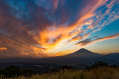 Flaming sunset Fuji (shinichiro*) Tags:    jp 20161014ds39677 2016 crazyshin nikond4s afsnikkor2470mmf28ged    fuji october autumn sunsets