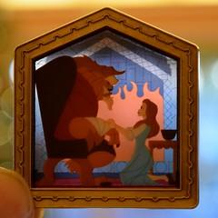 Disneyland Visit 2016-11-27 - Main Street - Beauty and the Beast Boxed Set (drj1828) Tags: us disneyland dlr visit 2016 mainstreet beautyandthebeast pin limitededition
