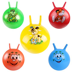 PVC jumping play hopper ball (zhuchuangtoys) Tags: pvc plastic kids play jumping hopper ball sticker logo advertising print colorful painting handle