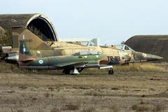 Rotting oldies (Rob Schleiffert) Tags: greekairforce hellenicairforce t33 f102 deltadagger tanagra
