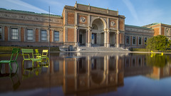 Statens Museum for Kunst (HansPermana) Tags: copenhagen denmark scandinavia city cityscape building oldbuilding oldtown bluesky water reflection historical colorful