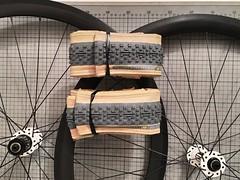 new lrs and tires (_tias_) Tags: lightbicyclerims carbon cross cx madeinjapan panasonic panaracer dtswiss fairweather
